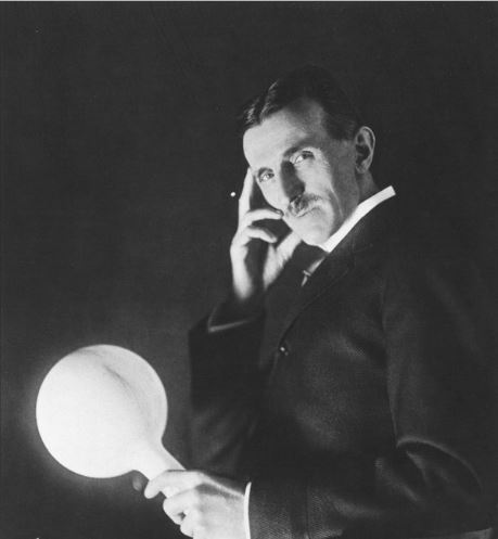 Tesla invented the ways how light can be harnessed and distributed.