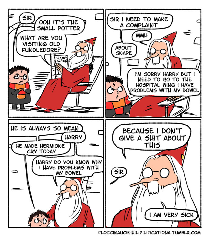 When Dumbledore Did Nothing About Snape Bullying Students