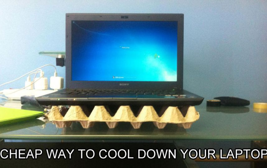 5. Cheapest and easiest way to cool down your laptop battery is here.