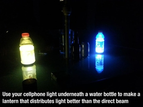 use your cellphone light