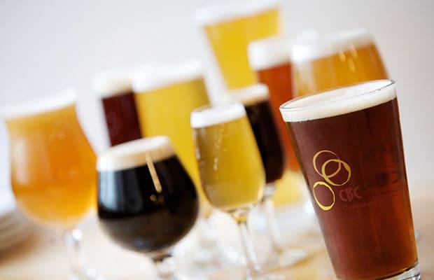 Beer in multiple glasses