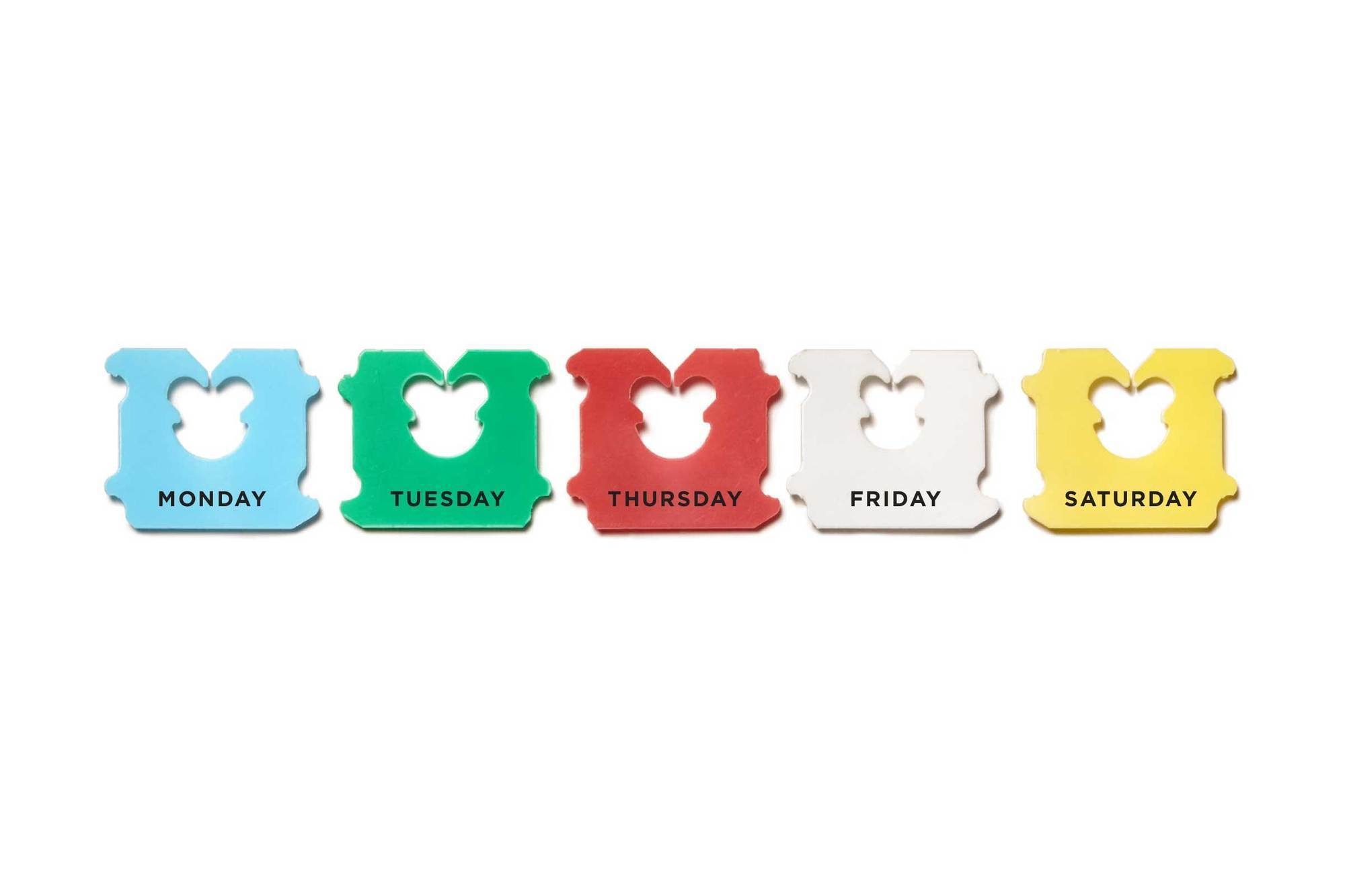 Colorful Bread Tags