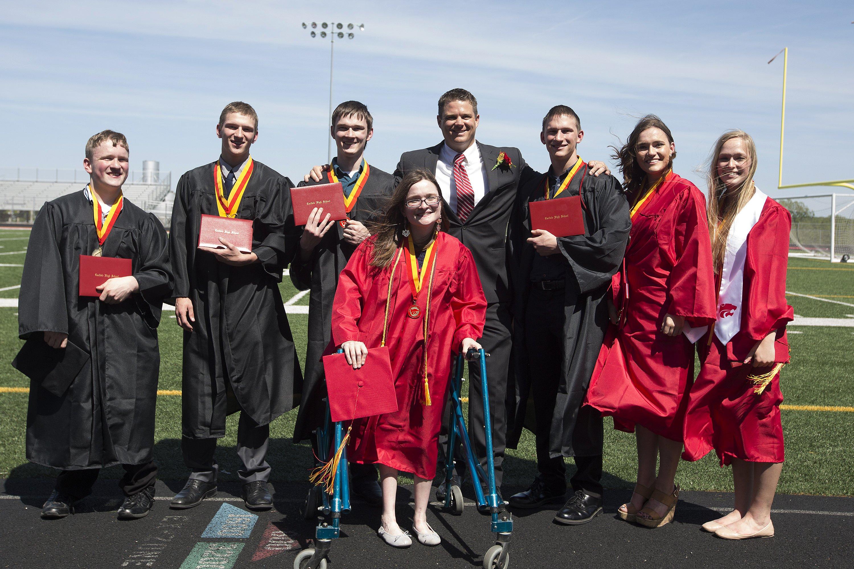 Septuplets-Graduation