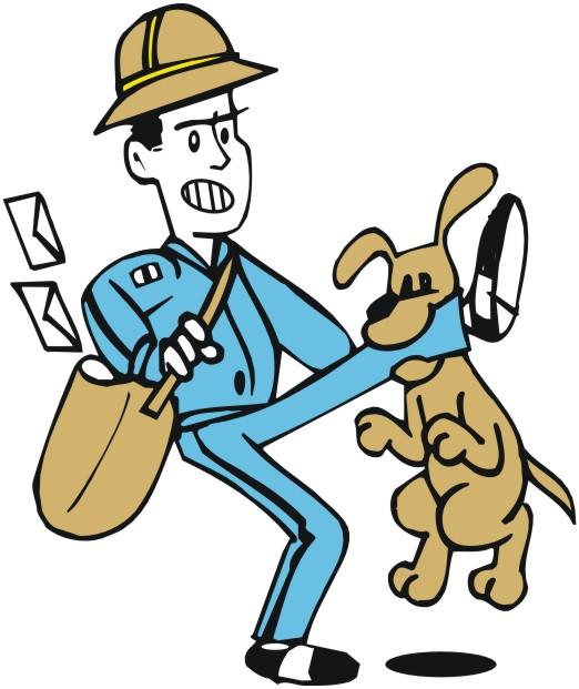 Image result for mailman dog cartoon