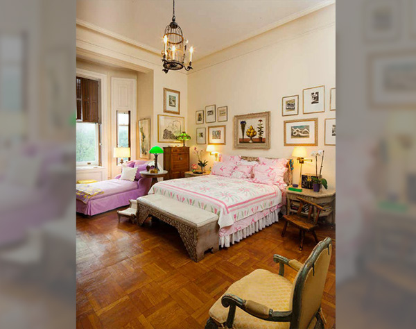 The Pretty Pink Master Bedroom