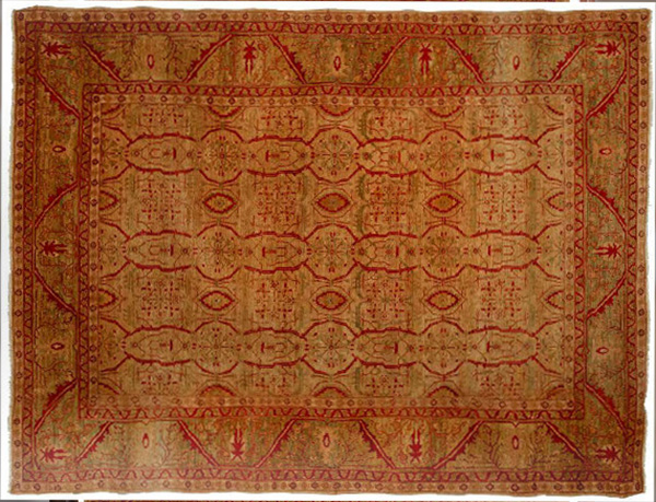 Her Turkish Carpet Sold For $2,250