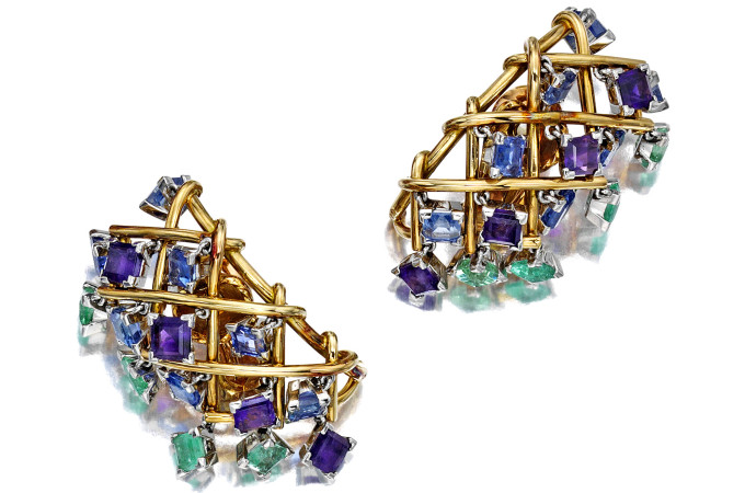 A Pair Of Earrings Sold For $52,500
