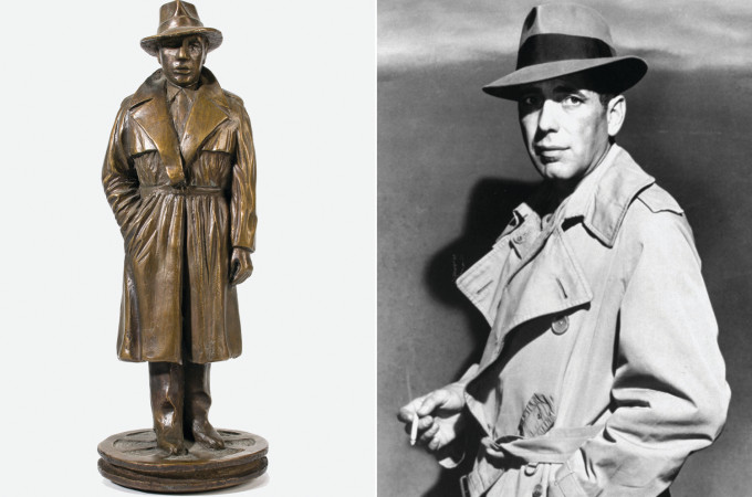 Bogart Statue
