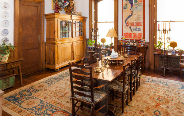 Bacall's Dining Room, With French-Inspired Design