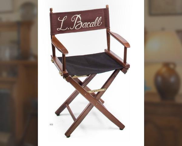 Lauren Bacall's Director's Chair