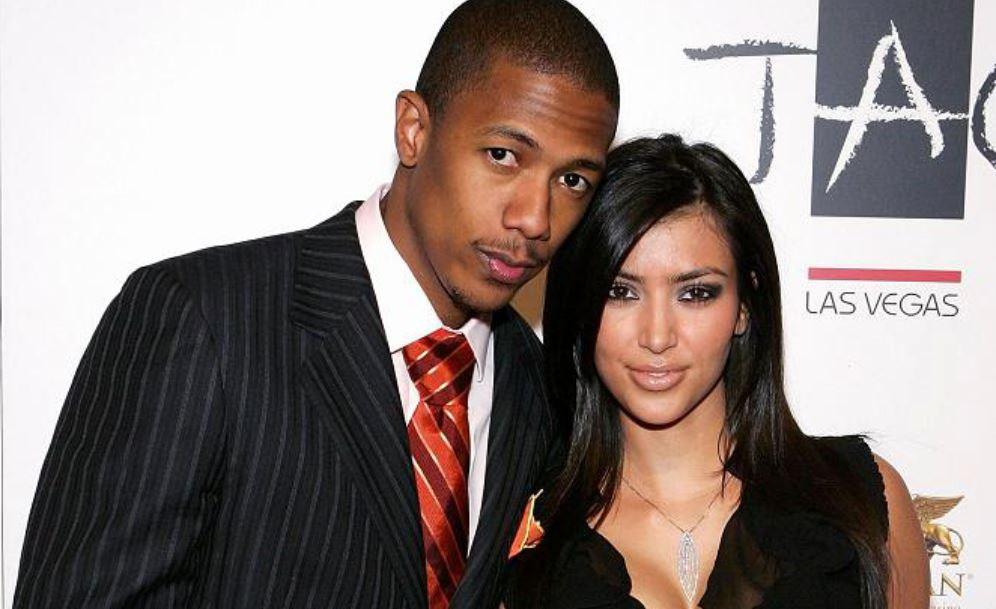 Kim Kardashian and Nick Cannon