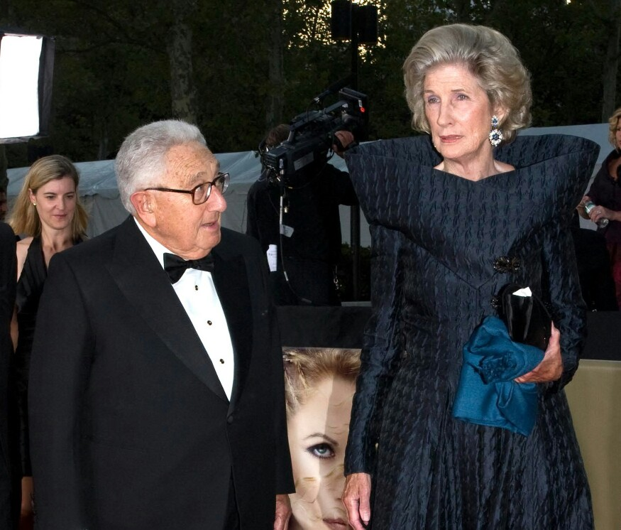 Henry Kissinger & Nancy Maginnes