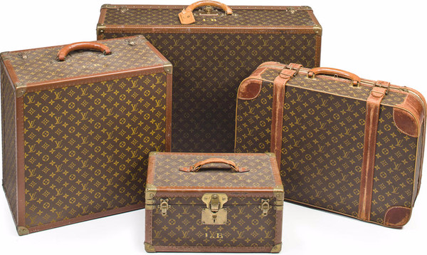 Ultra-Chic Louis Vuitton Luggage