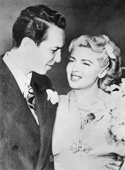 Lana Turner and Joseph Stephen Crane