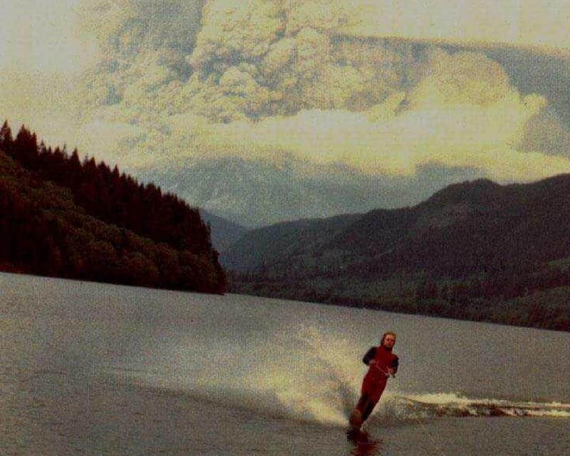 Moments After The Eruption