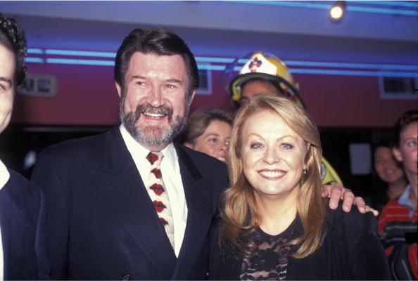 Jacki Weaver and Derryn Hinch