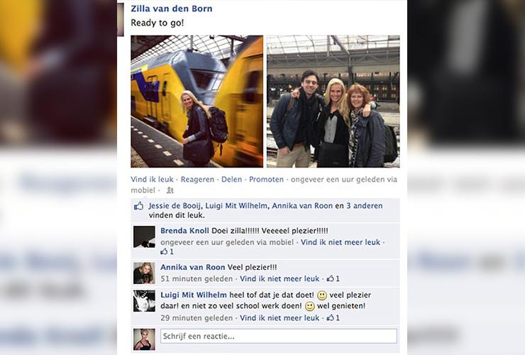 Zilla van den Born Story