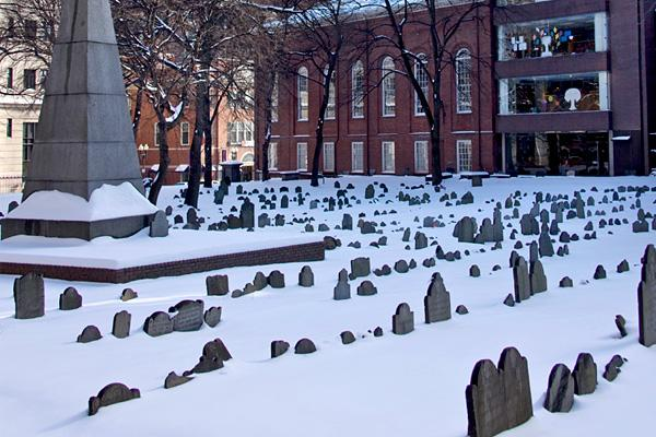 In 2007, Dr. Pepper held a treasure hunt worth $10,000 in Boston. Contestants were required to find a gold coin that was hidden in Granary Burying Ground, a 17th century graveyard that serves as the final resting place of John Hancock and Paul Revere. While it was likely inadvertent, the soft drink company had basically invited pickaxe-wielding contestants to rummage through 350-year-old graves in search of the coin. When they caught wind of the event, Boston city officials were so incensed that
