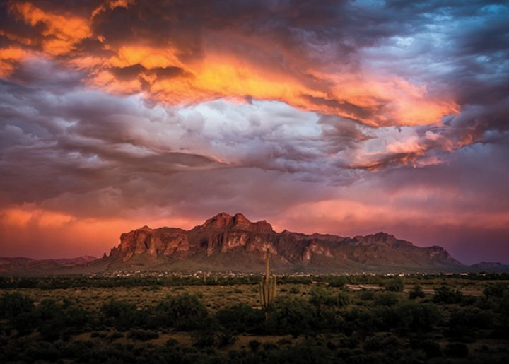 Image result for superstition mountain storm