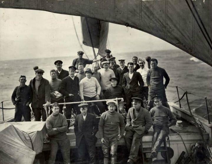 south pole explorers - endurance