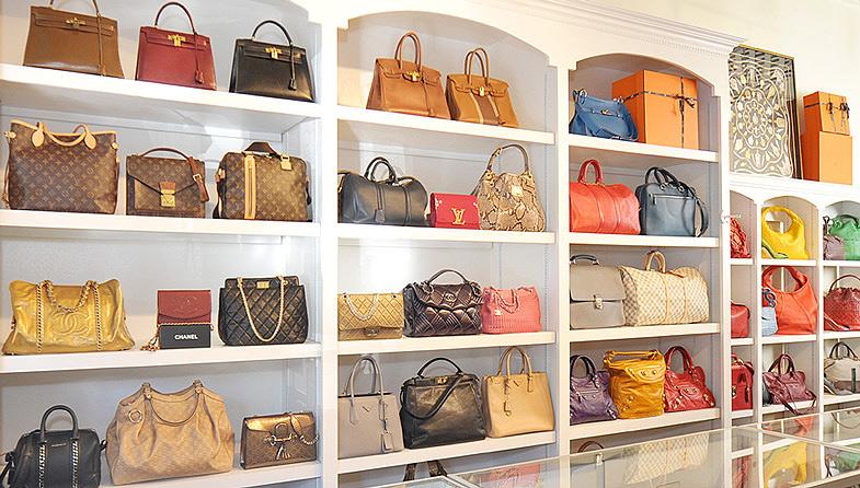 Image result for designer handbags showroom