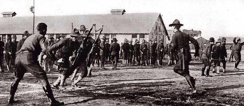 first world war american soldiers