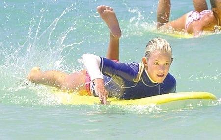 surfing surfer young bethany hamilton hawaii kauai