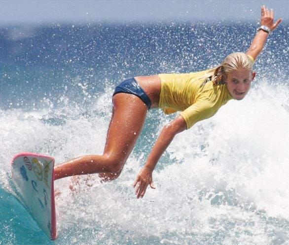 competition surfing surfer bethany hamilton kauai hawaii