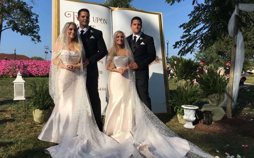 Image result for twin wedding deane