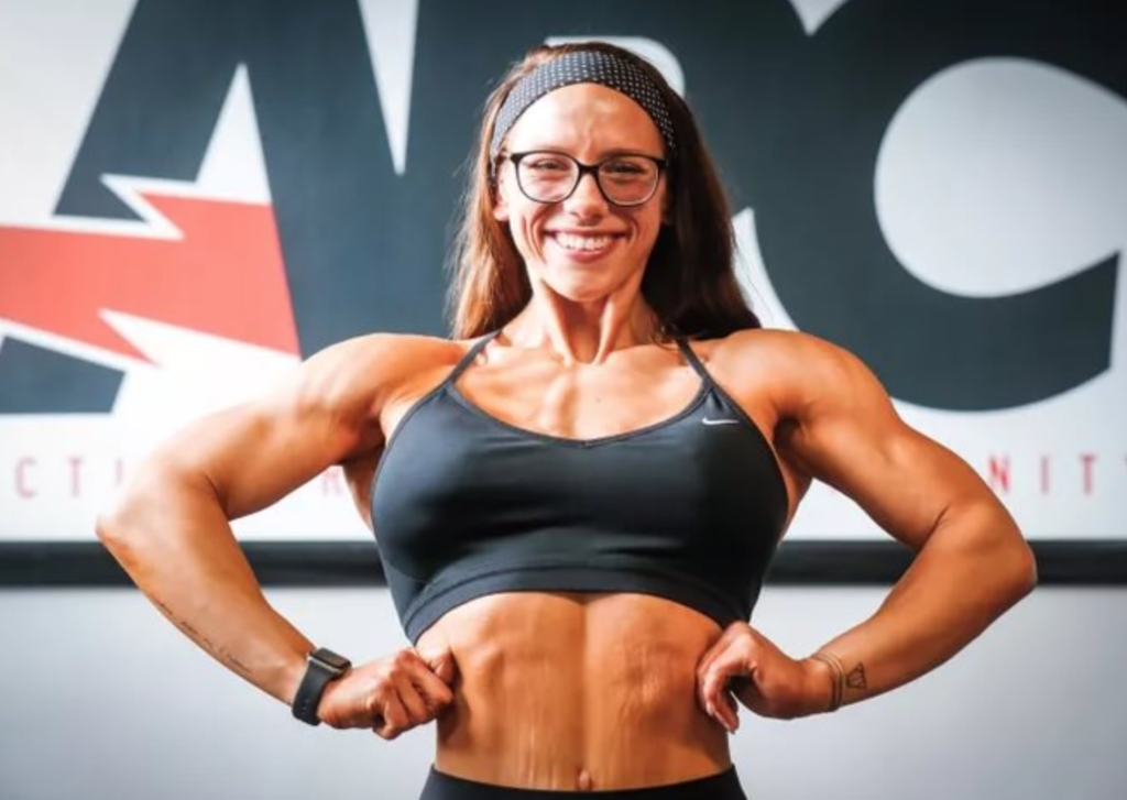 Female Body Builder Embarks Upon This Challenging Journey
