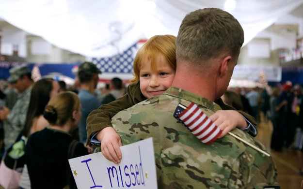 Image result for militaRY HOMECOMING