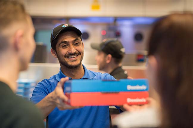 Image result for dominos order working