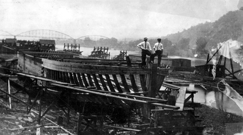 Image result for steamboat construction